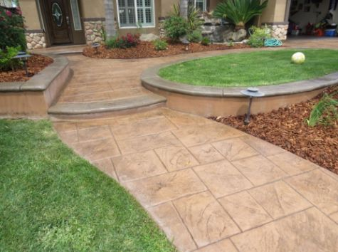 this image shows concrete patios cupertino