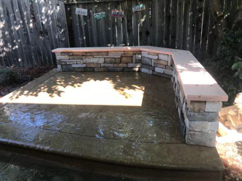 this image shows decorative concrete in cupertino