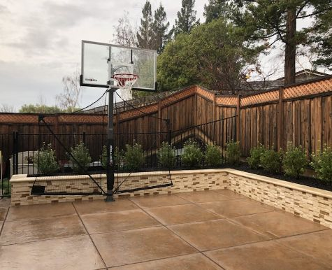 this image shows the driveway concrete cupertino contractors