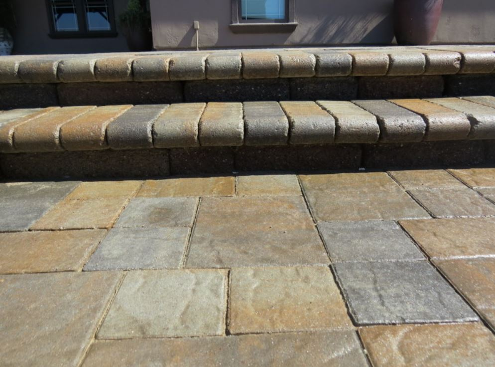 An image of stamped concrete in Cupertino.