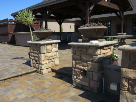 this image shows stone masonry cupertino