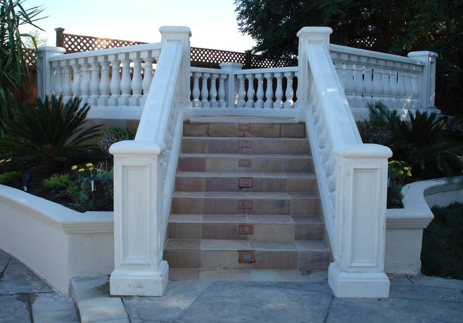 this image shows stone stairs cupertino
