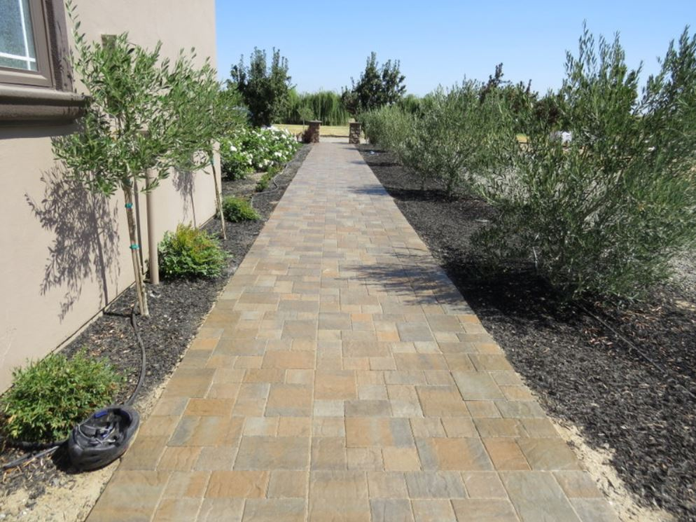 this is an image of concrete pavers in Cupertino