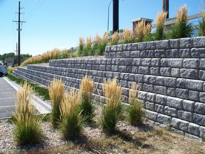 this is an image of retaining wall in Cupertino