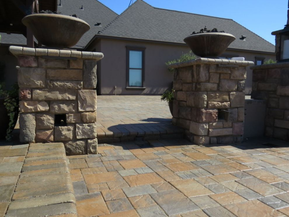 this is an image of stone masonry work in Cupertino