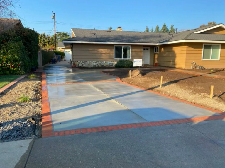 this is an image of driveway in Cupertino, California