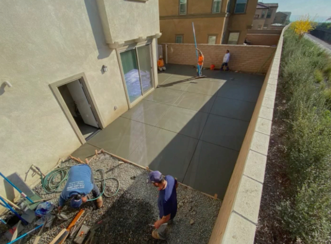 this image shows patio builders in Cupertino, California