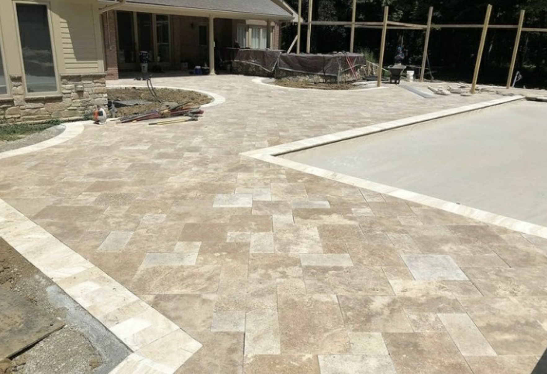 this image shows patio in Cupertino, California